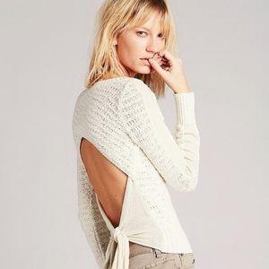 Free people cream sweater